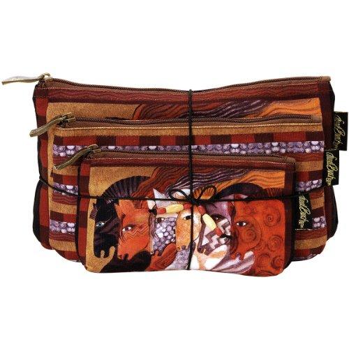 laurel-burch-set-of-3-cosmetic-bags-moroccan-mares