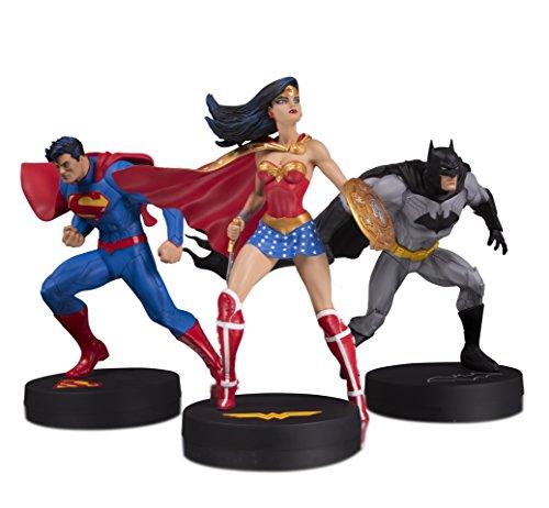 DC Designer Series: Jim Lee Collector Superman, Batman & Wonder Woman 3-Pack Statue Set