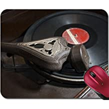 Liili Mousepad antique record music player vinyl disc made in ecuador south america Photo 2746423