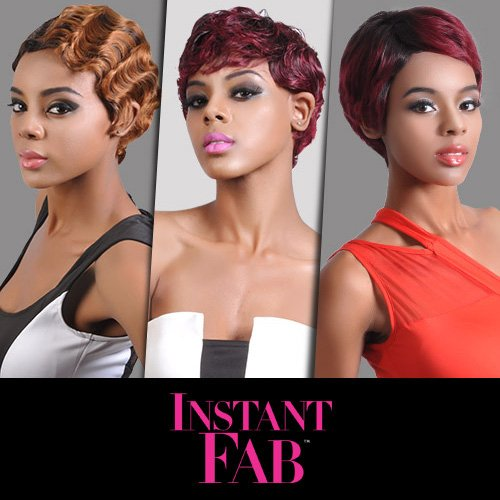 Instant Fab Remi Human Hair Wig Finger Wave (2)