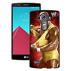 Hot Sale LG G4 Case,Wwe Superstars Collection Wwe 2K15 Hulk Hogan Wm02 Black LG G4 Screen Phone Case Unique and Cool Design