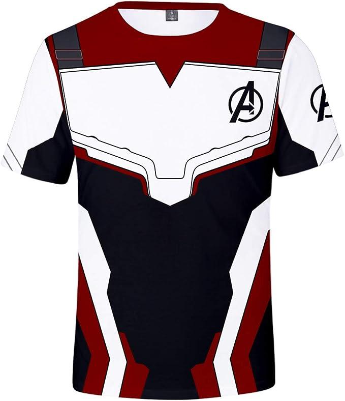 OLIPHEE Camisetas Deportivas Impresión de Guerrero cuántico de Vengadores para Hombre: Amazon.es: Ropa y accesorios