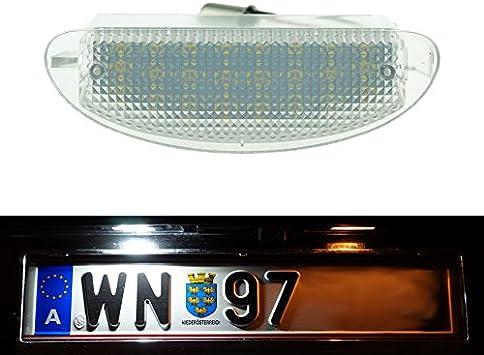 Do Led P03 Led Kennzeichenbeleuchtung Xenon Weiss Mit E Prüfzeichen Auto