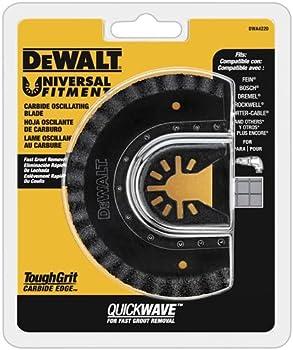 Dewalt Oscillating Grout Removal & Fast Cutting Tool Blade