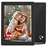 Nixplay Seed Ultra 10 Inch Digital WiFi Picture Frame with a High Definition 2048x1536 Resolution, iPhone & Android App, Free 10GB Online Storage and Motion Sensor (Black) - W10C