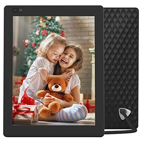 Nixplay Seed Ultra 10 Inch Digital WiFi Picture Frame with a High Resolution Display, iPhone & Android App, Free 10GB Online Storage and Motion Sensor (Black) – W10C