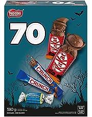 NESTLÉ Mini Halloween Chocolate & Candy Bars 70-Pack, 590 g
