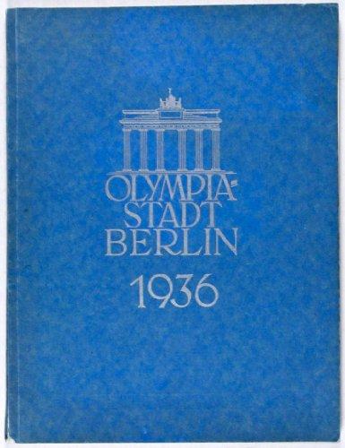 Olympia 1936 Berlin - Olympia-Stadt Berlin 1936 [Sonderteil des Berliner Adressbuches 1936]