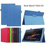 Asng Sony Xperia Z4 Tablet Case - Slim Folding
