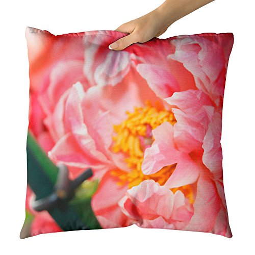 Westlake Art Petals Blossom - Decorative Throw Pillow Cushion - Picture Photography Artwork Home Decor Living Room - 26x26 Inch - Rose Petal Cottage Collection