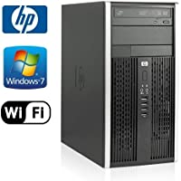 HP 6000 Pro MicroTower - Intel Core 2 Duo 2.93GHz, NEW 1TB HDD, 8GB DDR3, Windows 7 Pro 64-Bit, WiFi, DVD-ROM (Prepared by ReCircuit)