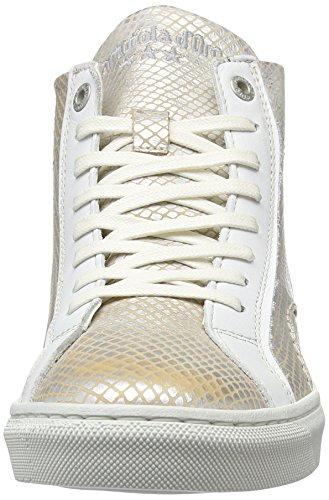 Pantofola d'Oro Paularo Donne Mid, Sneaker Donna Beige (Marshmallow .79g)