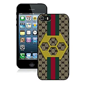 New Custom Designed iPhone 5s Phone Case With Generation Gucci 30 Black Phone Case