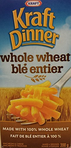 Kraft Dinner Whole Wheat 200g {Imported from Canada} (Kraft Dinner From Canada)
