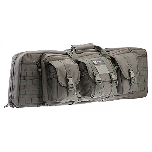 Drago Gear Double Gun Case, Grey, 36-Inch