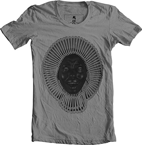 Awaken My Love Childish Gambino Hip Hop Unisex T-Shirt (2X-Large, Gray)