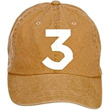 Shkdg Cotton Chance The Rapper Coloring Book Number 3 Unisex Adjustable Twill Baseball Cap