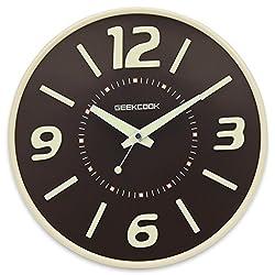 TIANTA-wall clock Modern simple three-dimensional digital luminous wall clock silent seconds quiet bedroom clock