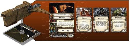 Giochi Uniti gu083 Star Wars X-Wing, Hound S Tooth: Amazon.es: Juguetes y juegos