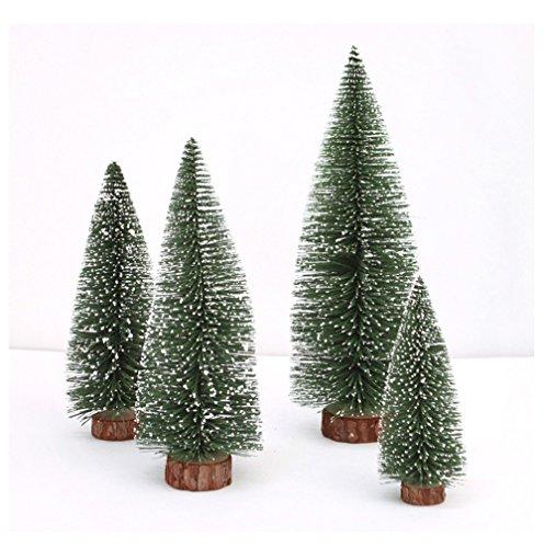 Hot Sale!DEESEE(TM)Mini Christmas Tree Stick White Cedar Desktop Small Christmas Tree (Green 20CM)