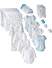 23-Piece Essential Baby Layette Set — Newborn Baby Clothes — Baby Boy and Baby Girl — Baby Shower Gift