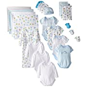 SpaSilk Essential Newborn Baby Layette Set - 0-6 Months - Yellow, Set of 23