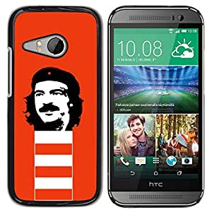 LECELL -- Funda protectora / Cubierta / Piel For HTC ONE MINI 2 / M8 MINI -- Funny Rebel Face --