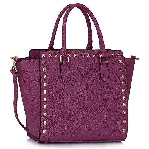 Designer Purple In Design Handbags Celebrity Style Womens Bags Tote Sale New 6 Ladies Shoulder XgOqTA