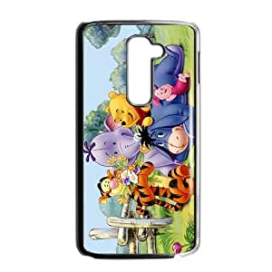 2015 Theme Design Winnie The Pooh Hard Back Covers Protective Case Phone For LG G2 Hard Plastic Cases (5)
