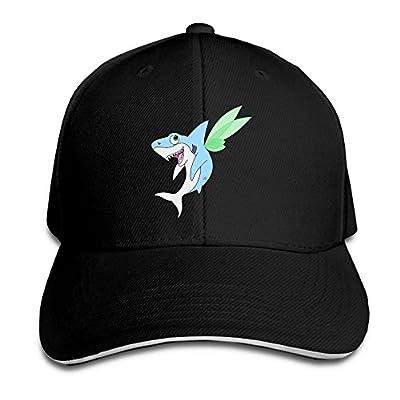 Pixie Shark Custom Sandwich Peaked Cap Unisex Baseball Hat