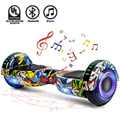 SWEETBUY hoverboard is lightweight ,free bag to easy carry on ,fast learning and self -balancing system,it is the best choice as a gift & toy for kids and friends.easily be ridden , offers the most enjoyable and exciting . especially for ...