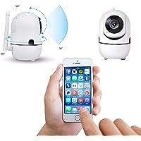 Câmera Ip HD Sem Fio Wifi Robô Inteligente Infra Vermelho 960p