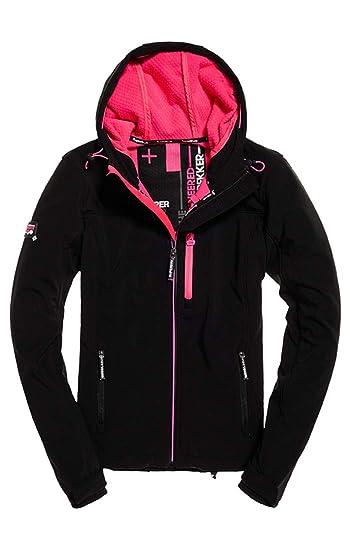b03f3398ff6f2 Superdry Women s Hooded Sd Windtrekker Sports Jacket  Amazon.co.uk  Clothing