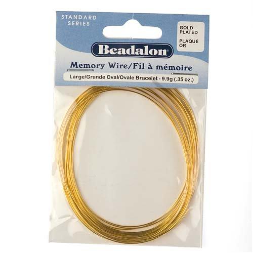 Memory Wire, Oval Bracelet, Coil 2.3