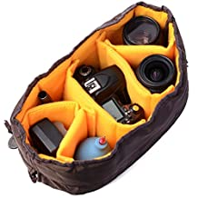 XCSOURCE® Flexible Camera Insert Partition Padded Bag Case for Canon DSLR SLR Lens LF381