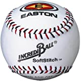 Easton 9 in. SoftStitch White IncrediBalls - 1 Dozen