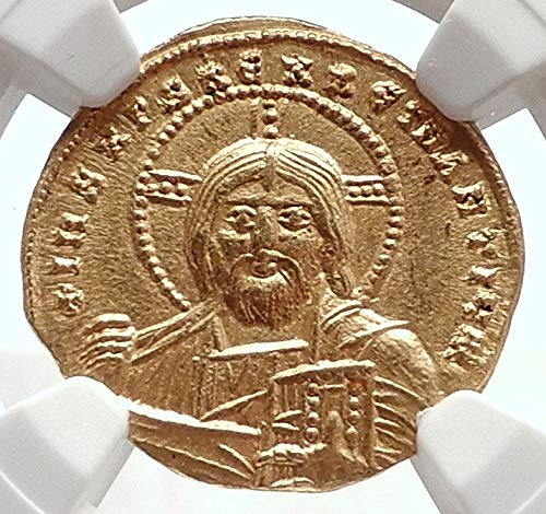 1000 TR CONSTANTINE VII Authentic Ancient Byzantine AV Co coin Ch AU NGC