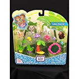 Jungle In My Pocket Best Deals - Jungle In My Pocket 15 Piece Playset Style 3