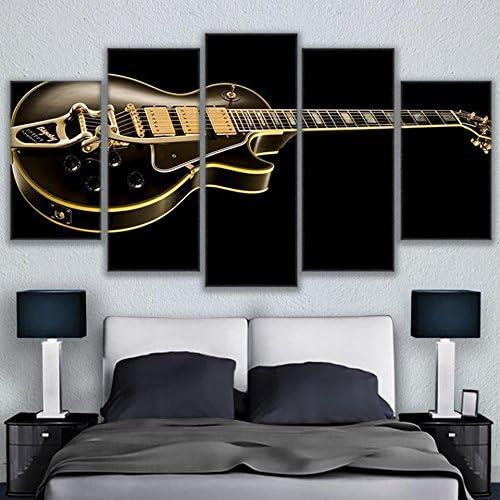 Zaosan Familia Pared Arte decoración Lienzo Pintura 5 Guitarra ...