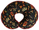 Nursing Pillow Cover Black Retro Tattoo for Baby Boy or Girl