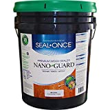 Seal Once 3112 premixed Nano Guard Premium Wood Sealer Brown 5-gallon