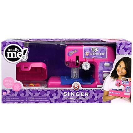 Totally Me Child Size Singer Sewing Machine W Accessories Zig Zag Beauteous Totally Me Sewing Machine