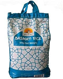 RICE BASMATI LONG GRAIN 10KG