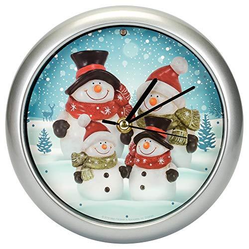 (Mark Feldstein Snow Family Generation II Clock )