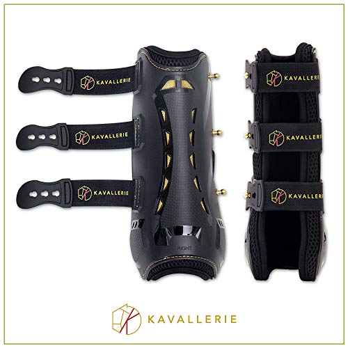 Kavallerie Horse Tendon Boots Pro-K 3D Air-Mesh Horse Boots, Showjumping, Horse Jumping Boots, Lightweight Breathable Soft Padding Less Sweat Rubs