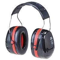 3M Peltor Optime 105 Orejeras en la cabeza, protectores auditivos, protección auditiva, NRR 30 dB