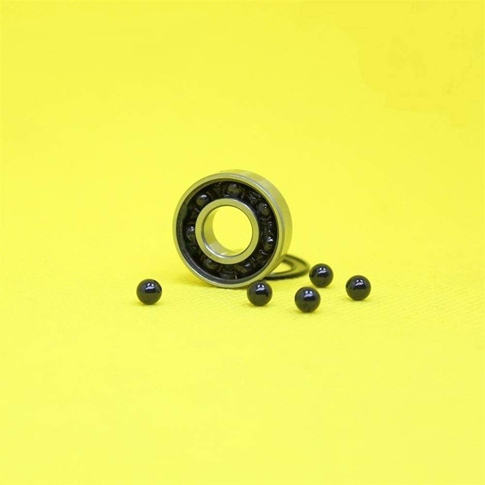NO-LOGO CMM-Y R6 3NC R6RS R6HC Hybrid Ceramic Bearing ABEC-1 1 PC Industry Motor Spindle Hybrids Ball Bearings Si3N4 9.52522.2257.144 mm