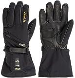 Men's Volt Heated snow gloves, Black, Large