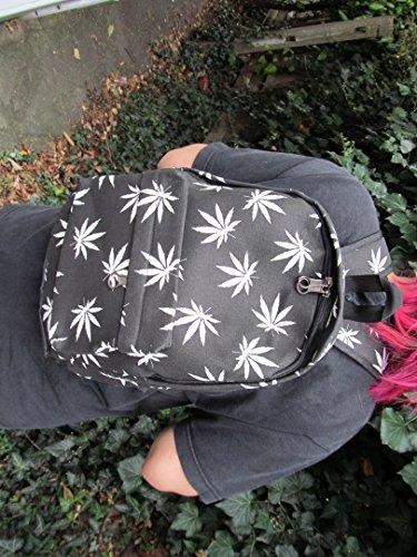 copie Dos Drogue Ou catz catz Mauvaises Cannabis M Unisexe Par Mini Marijuana Étudiant Sac Herbes Ganja Mode À Fat pwqFxfTCOt
