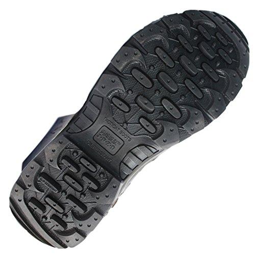 Táctica Cadete Piel Negro Moda Zapatos Ejército Militar Policía Deylaying Combate Patrulla Botas YpERq0